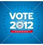 Election campaign buttonbackground