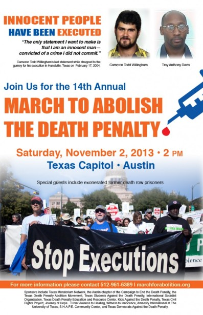 march to end death penalty