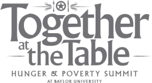 together at table